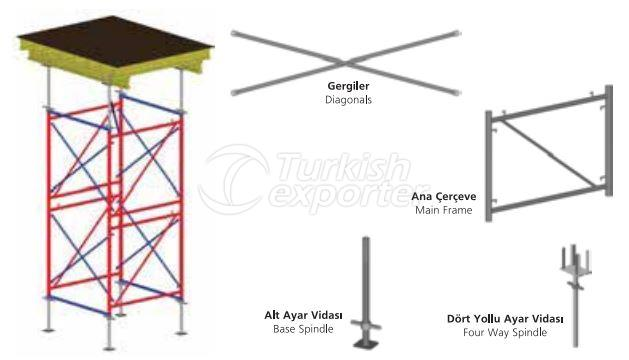 Type de table Shoring Tower