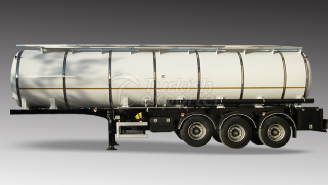 Cylindrical Stainless Steel Tanker Insulated