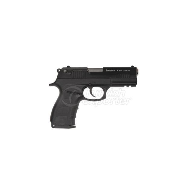 Blank Pistol F-99 Black