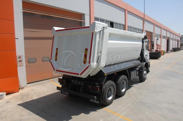 Caminhão montado meia tubulação Dump02