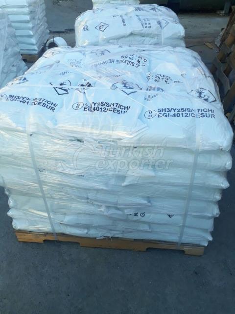 Heptahidrato de sulfato de zinc