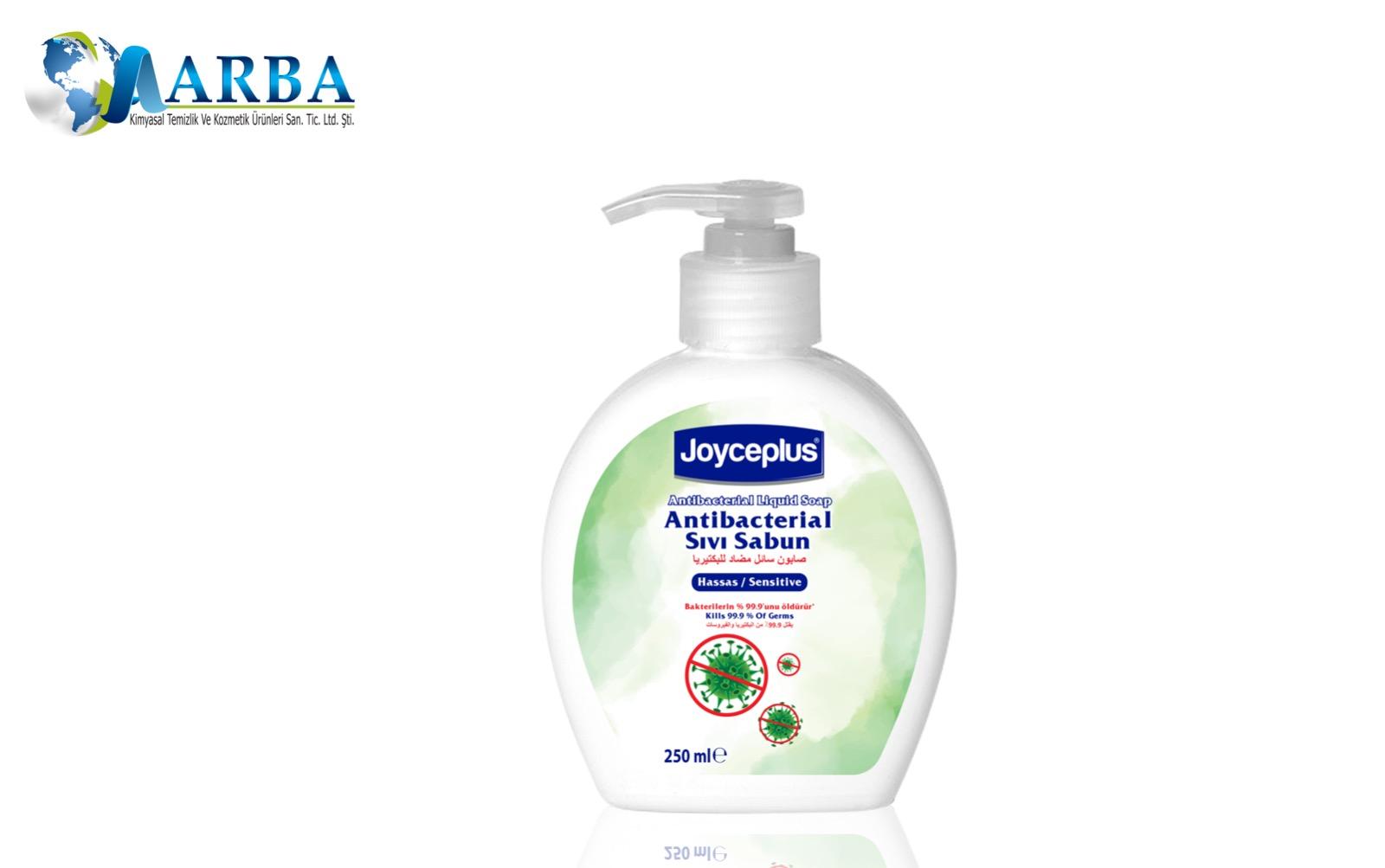 Savon liquide pour les mains antibactérien Dizenfectant, 250 ml