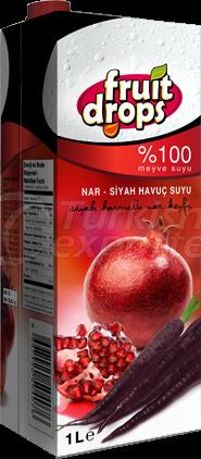 Гранатовый сок- Морковный сок