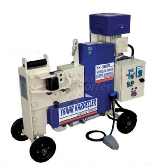 YK 3600 Hydraulic Iron Cutting Machine