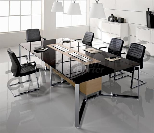 Gloss Meeting Table
