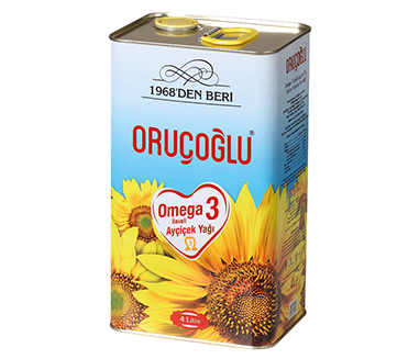 SUNFLOWER SEED OIL WITH OMEGA 3
