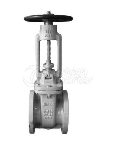 Клапан с выдвижным шпинделем 121