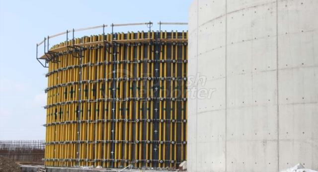 Timberform Dairesel Duvar Kalıpları