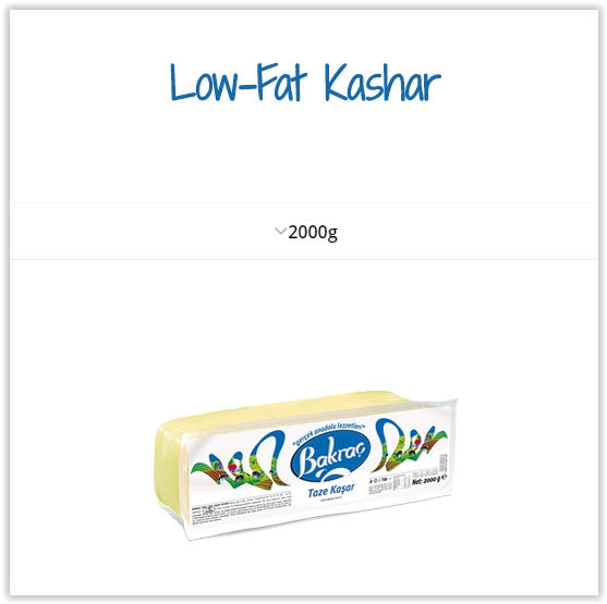 Cheese - Low-Fat Kashar