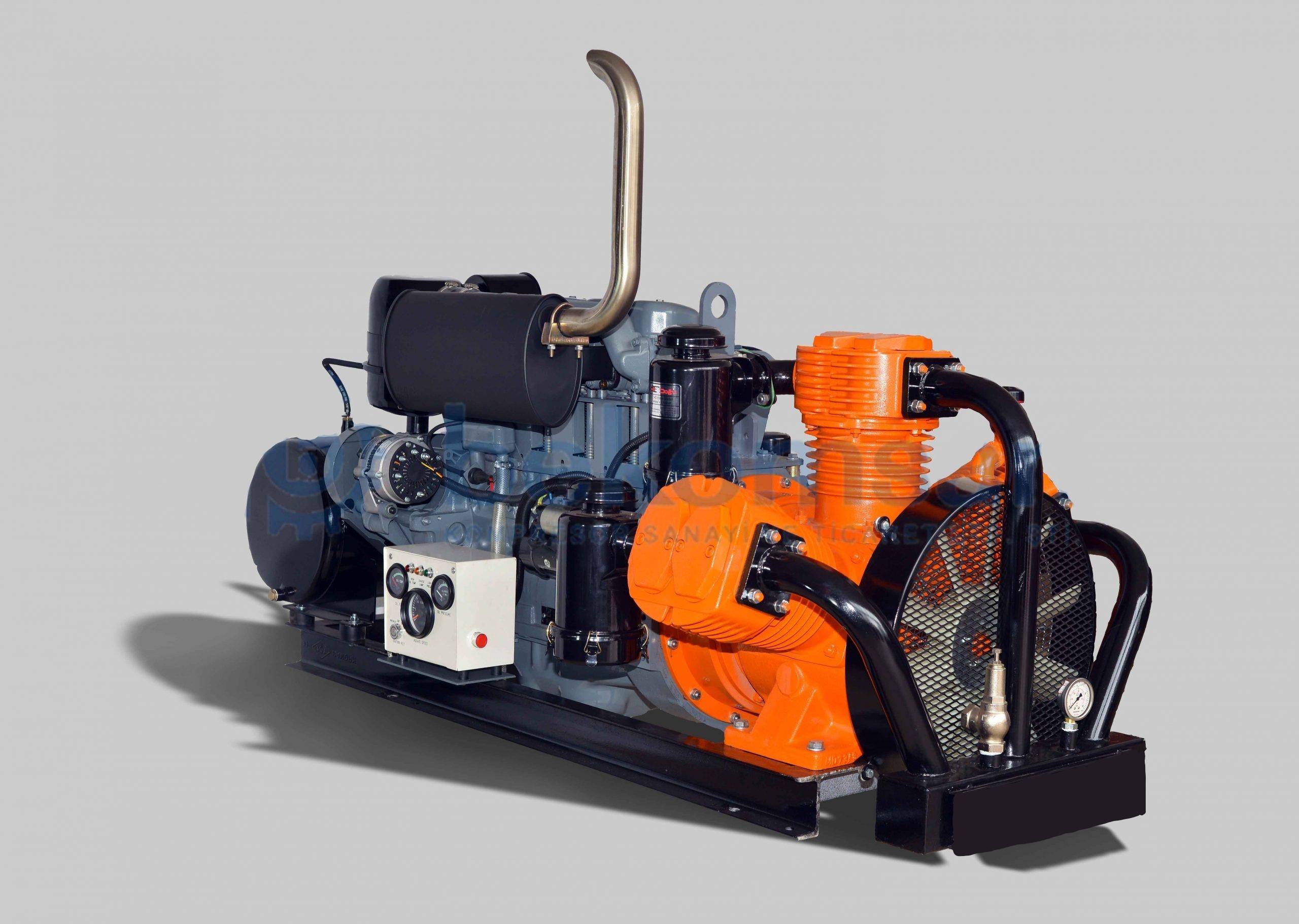 Cement Trailer Compressor