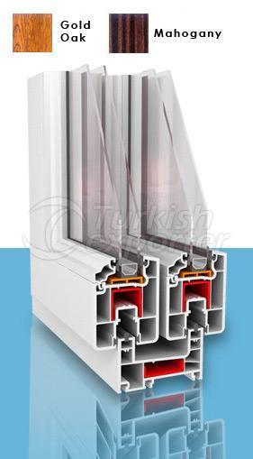 PVC Sliding Window 863 Series