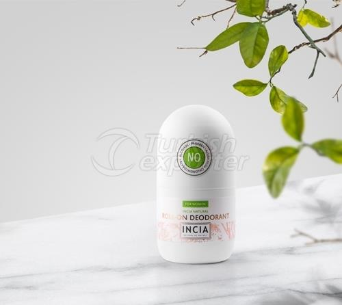 Natural Roll-On Deodorant for Women