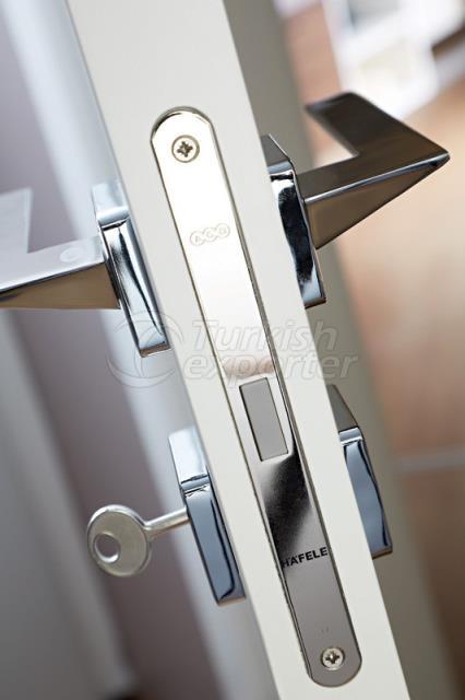 Door Lock and Hinge