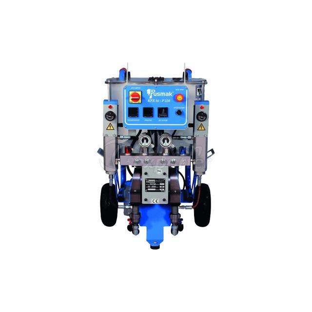 Working Polyurethane Machine