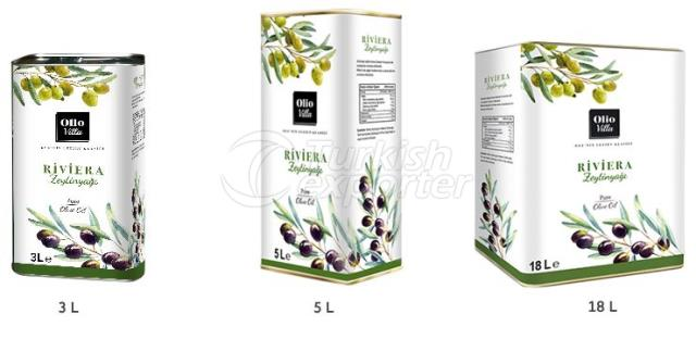 Riviera Olive Oil Tin Can