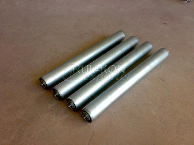 Rollers for roller conveyors
