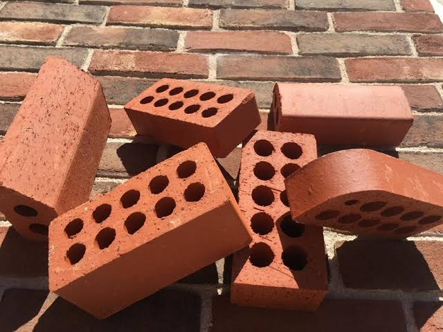 Sand faced bricks
