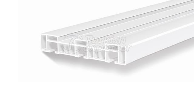 PVC Curtain Rails