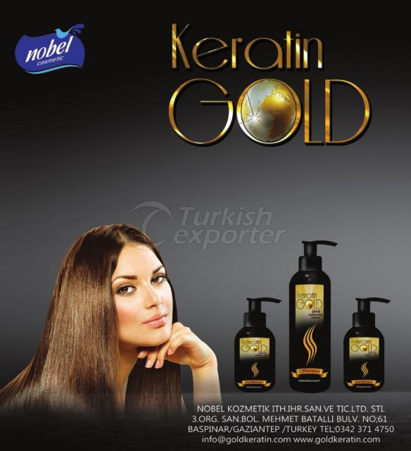 Hair Care Keratin Gold