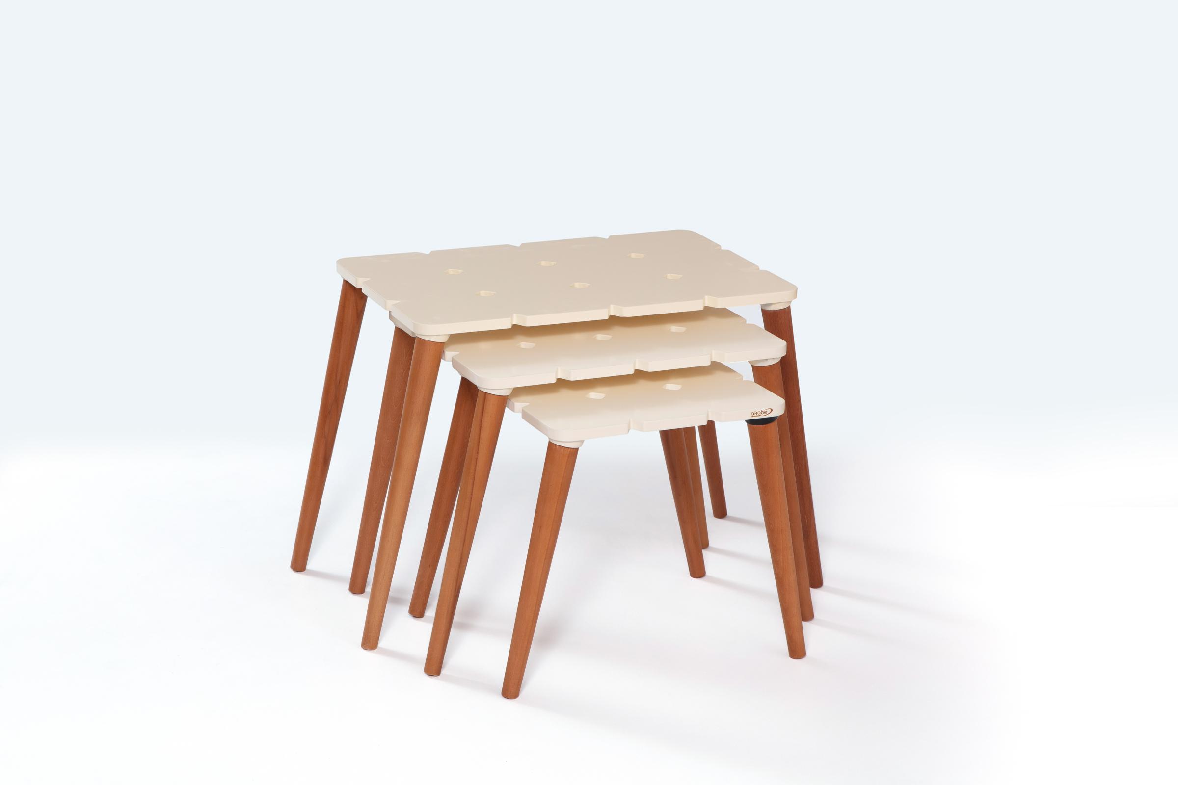129 COFFE TABLE SET 4 PART
