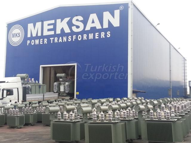 Transformer with Oil Tank