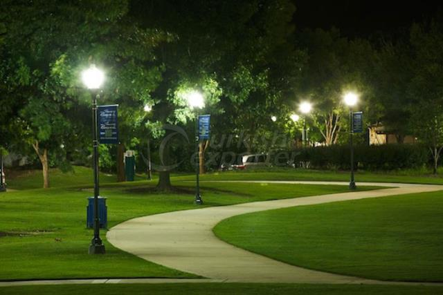 Street, Park, Garden Lighting Pole