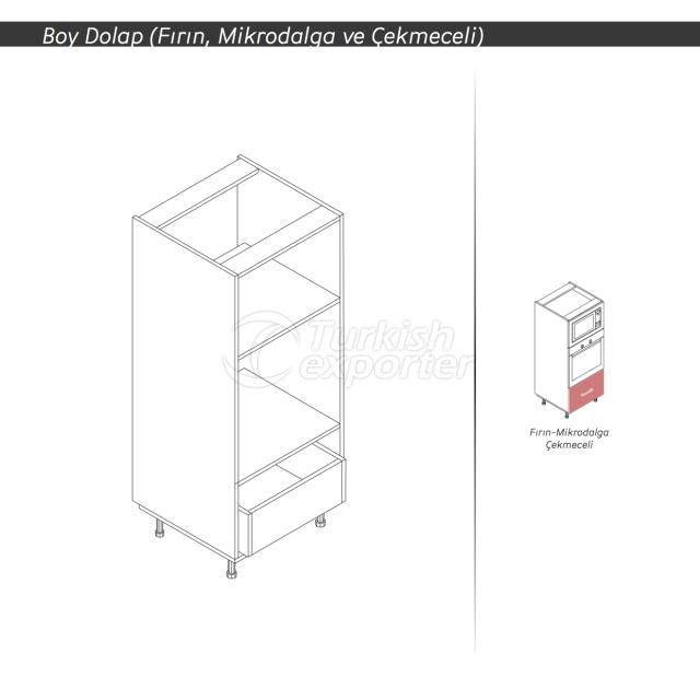 BASE HIGH CABINET WITH DRAWER