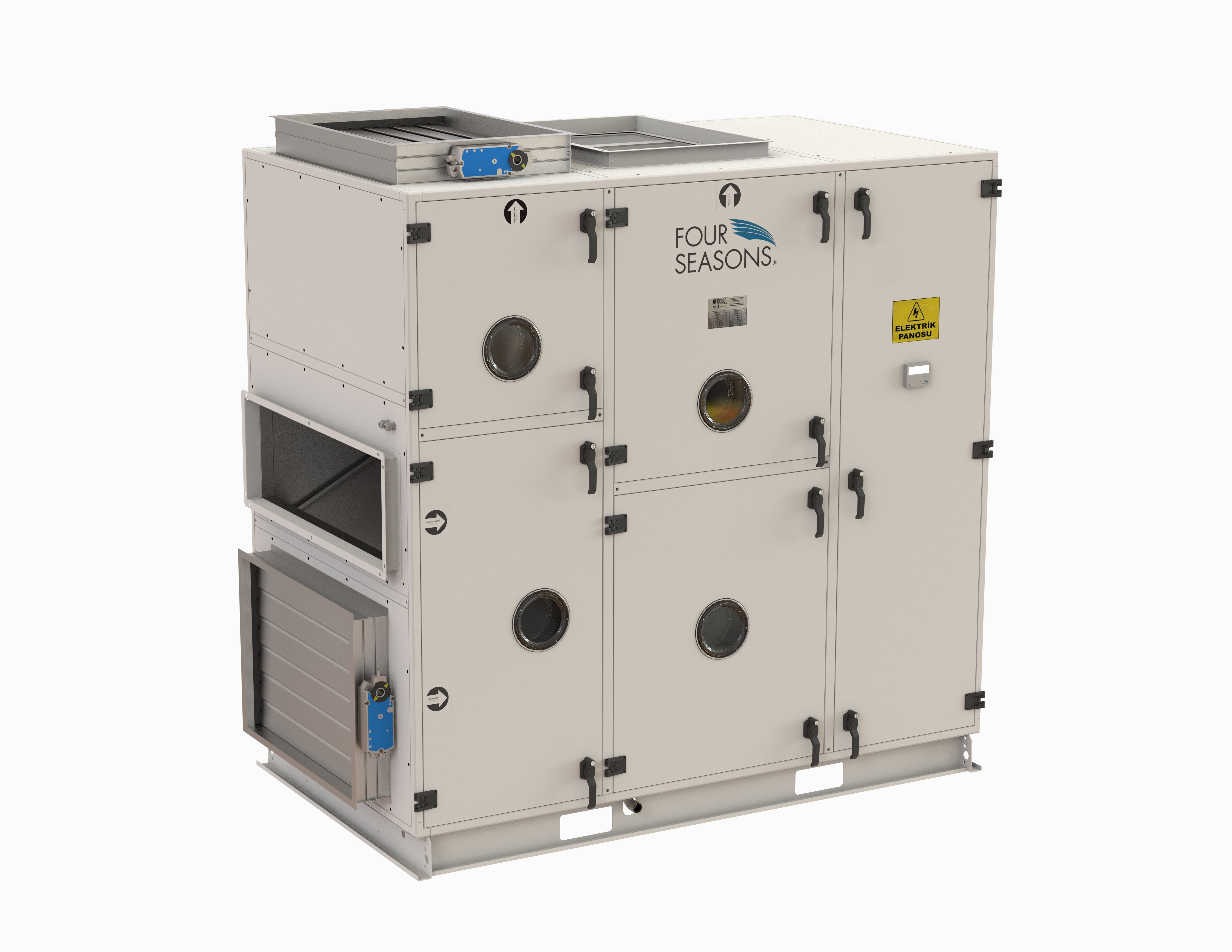 AIR HANDLING UNIT (WITH EUROVENT, HYGIENIC DIN 1946-4)