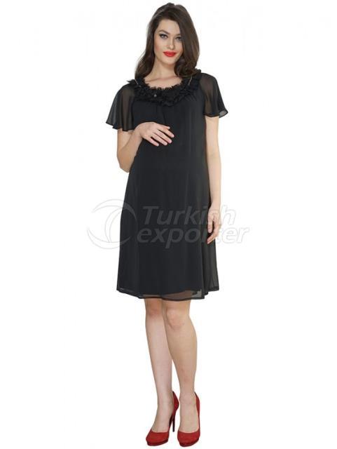 Stone Rose Evening Short Sleeve Maternity Clothes