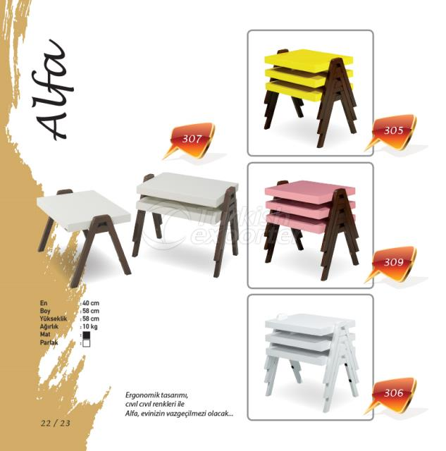 Журнальный столик Alfa