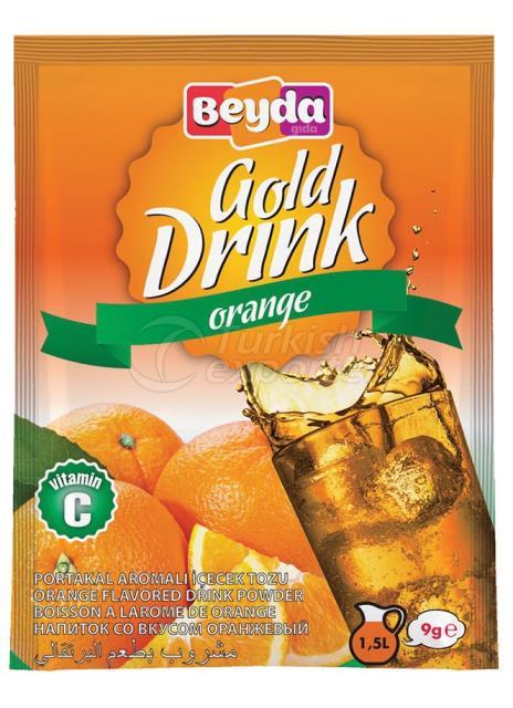 مسحوق شراب بنكهة البرتقال