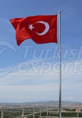 Stainless Flag Pillar