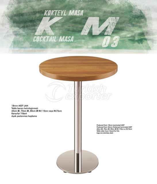 Kokteyl Masa KM03