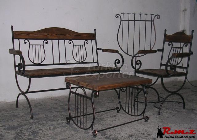 Ferforje  Wrought Iron Standsi 2