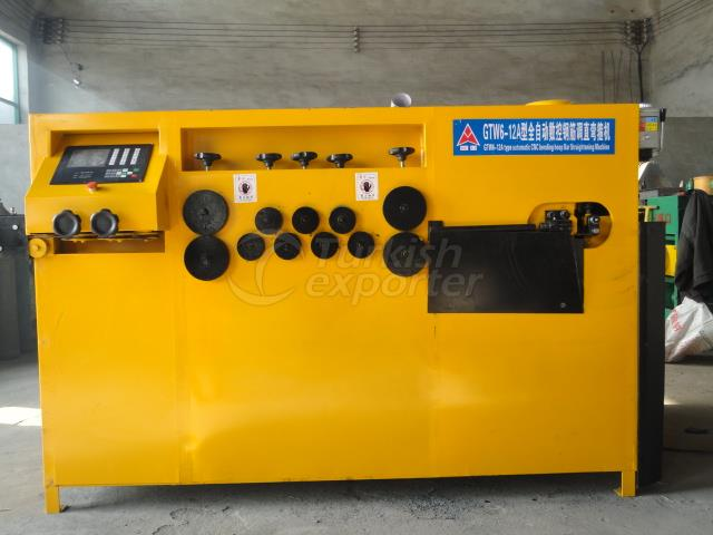 Steel rebar bending machine