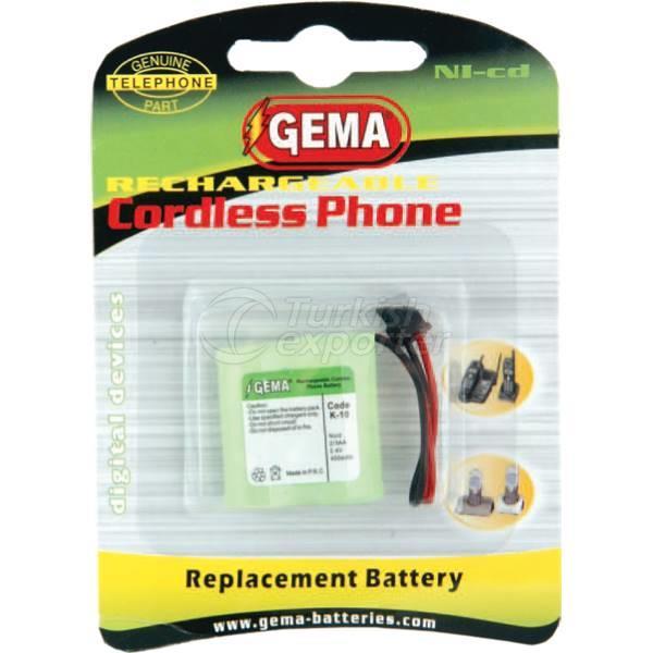 Telsiz Telefon Pilleri K04