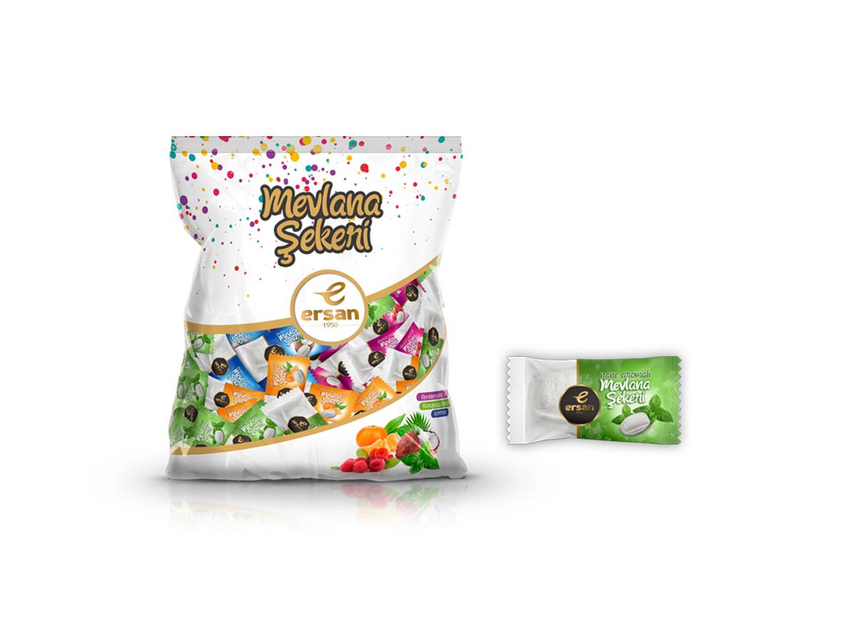 mint flavored mevlana sugar
