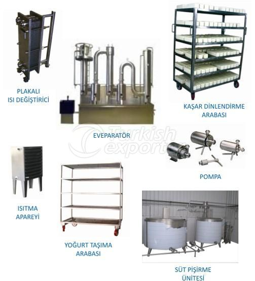 معدات صناعة الحليب