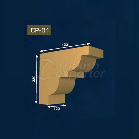 Gypsum Corbel CP-01