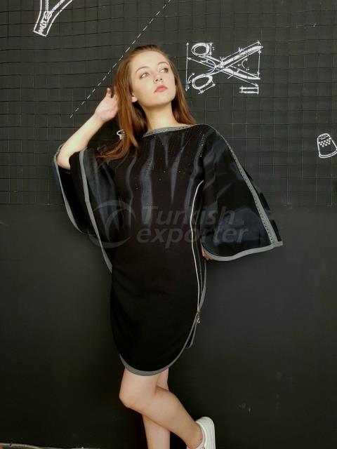 Black Design Dress