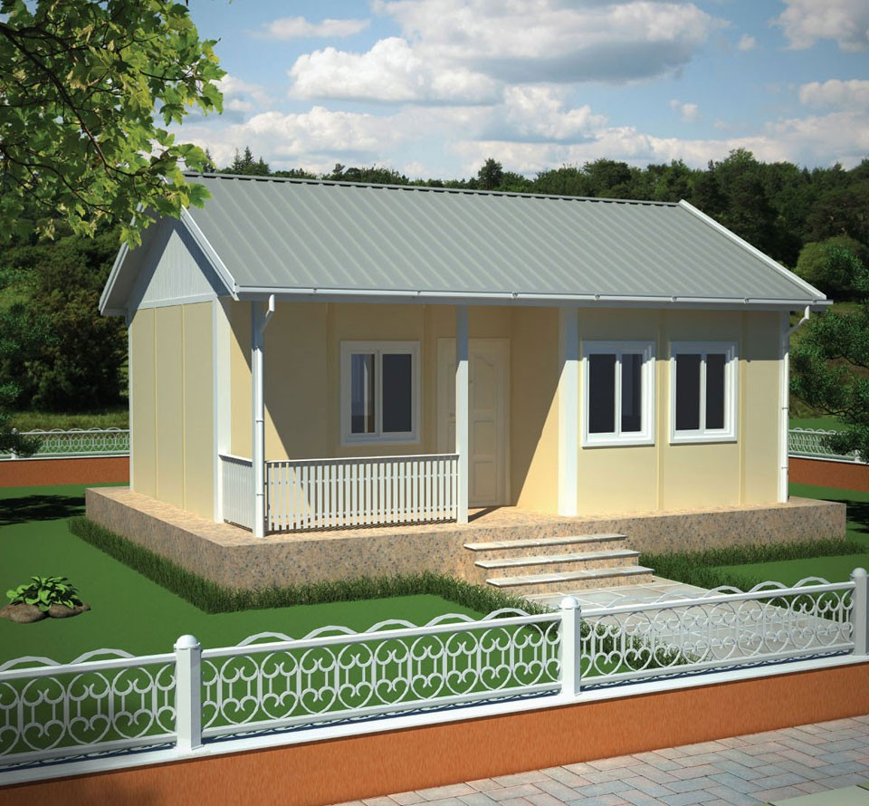 Low Cost Houses - 37m2