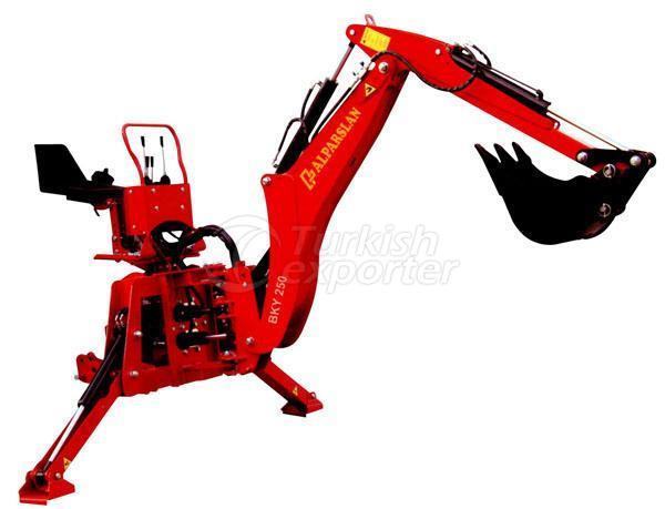 Tractor Backhoe Loader Backhoe Rear