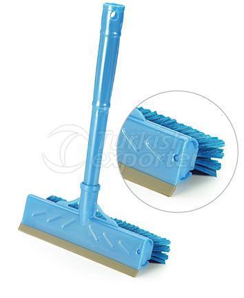 Window Wiper with Brush