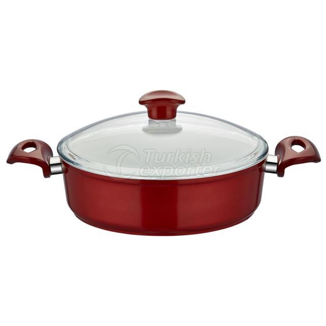 Ceramic Shallow Saucepan