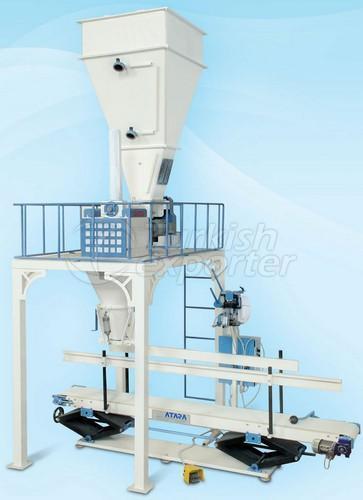 Máquina de embalagem de farinha única
