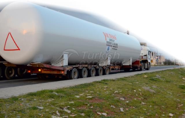 Tanque de armazenamento de GLP