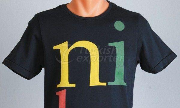 Men Collarless T-Shirt