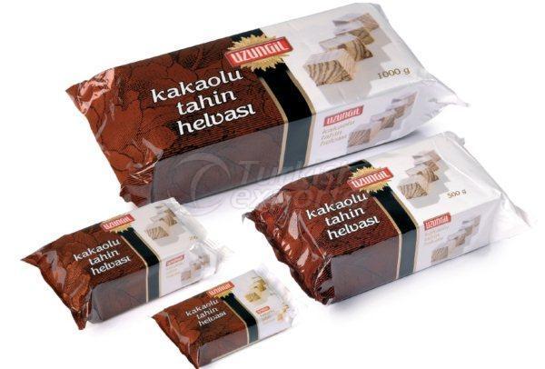 Sesame Paste Halva With Cocoa
