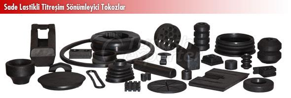 Simple Rubber Vibration Damping Wedges