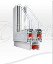 Double Rail PVC